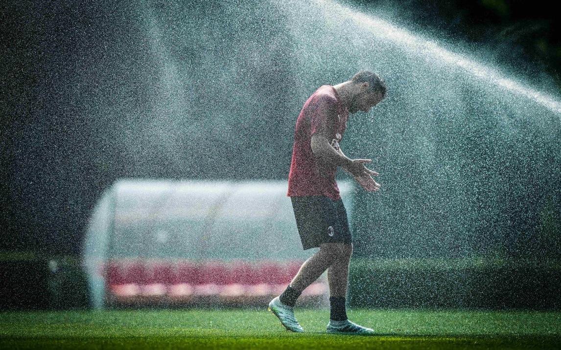 Il Milan si rinfresca in vista dell'ultima di campionato