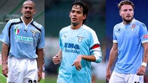 Lazio, dallo scudetto a oggi: 21 anni di maglie biancocelesti