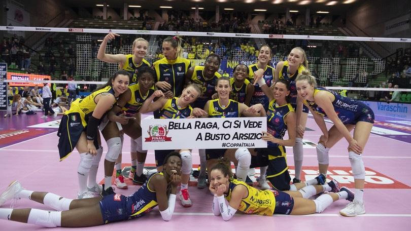 Domenica 6 settembre la finale di Supercoppa Femminile