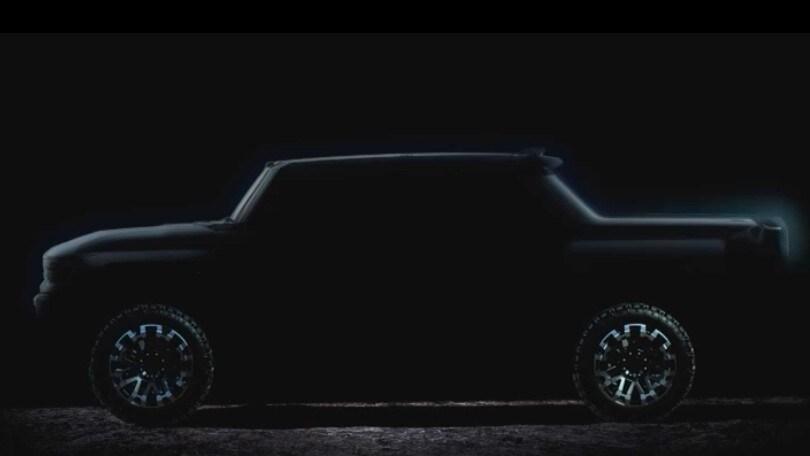 GMC Hummer EV 2021, il ritorno dellla belva in salsa elettrica