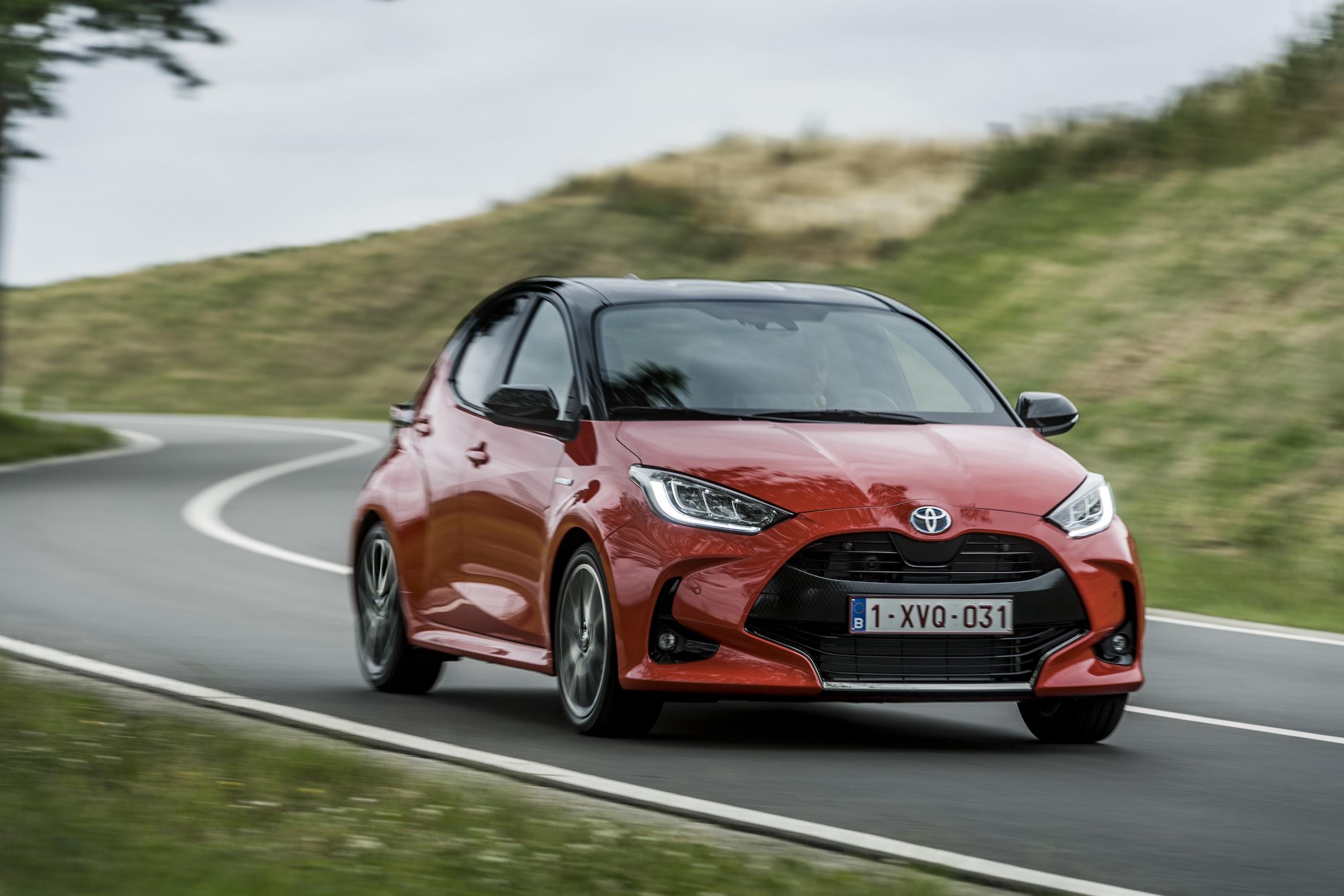 Nuova Toyota Yaris: tutti gli scatti
