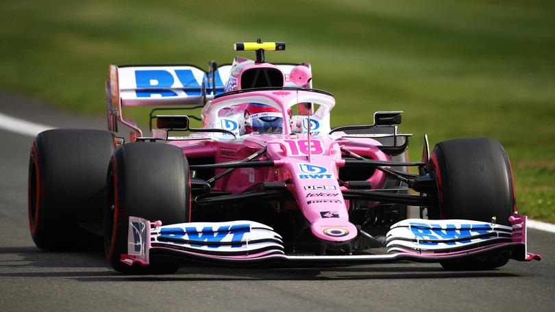 GP Silverstone, le seconde libere a Stroll, Ferrari quarta con Leclerc