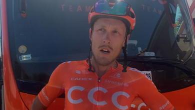 """Vuelta, Trentin: """"Sbagliata la strategia in volata"""""""