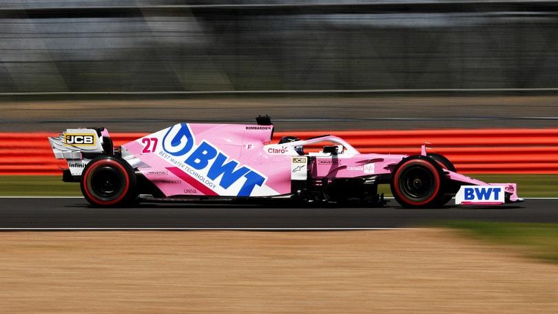 """GP Gran Bretagna, Hulkenberg: """"Subito a mio agio dalle prime curve"""""""