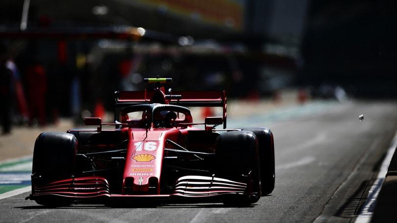 "GP Gran Bretagna, Leclerc: ""Giornata discreta ma passo gara lento"""