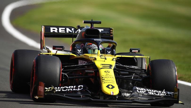 GP Gran Bretagna, Renault sostituisce il telaio a Ricciardo