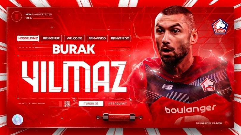 Yilmaz al Lille: è lui il dopo Osimhen