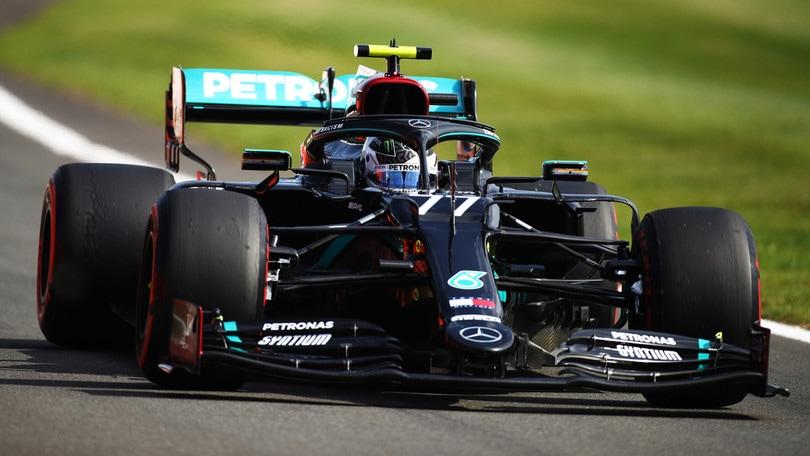 GP Inghilterra, sfreccia Bottas nelle ultime libere, Ferrari sesta con Leclerc
