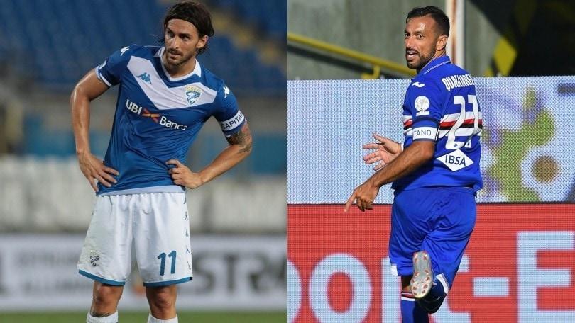 Diretta Brescia-Sampdoria ore 18: dove vederla in tv, in streaming e formazioni ufficiali