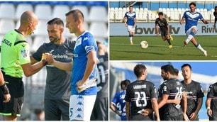 Gastaldello dice addio al calcio. Torregrossa pareggia il gol di Leris