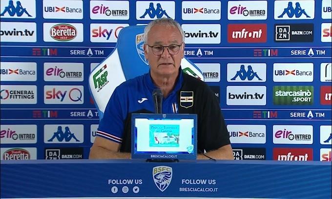 """Ranieri: """"Quagliarella è un punto di riferimento per noi"""""""