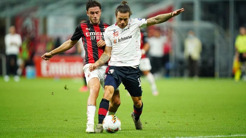 Milan-Cagliari 3-0 il tabellino