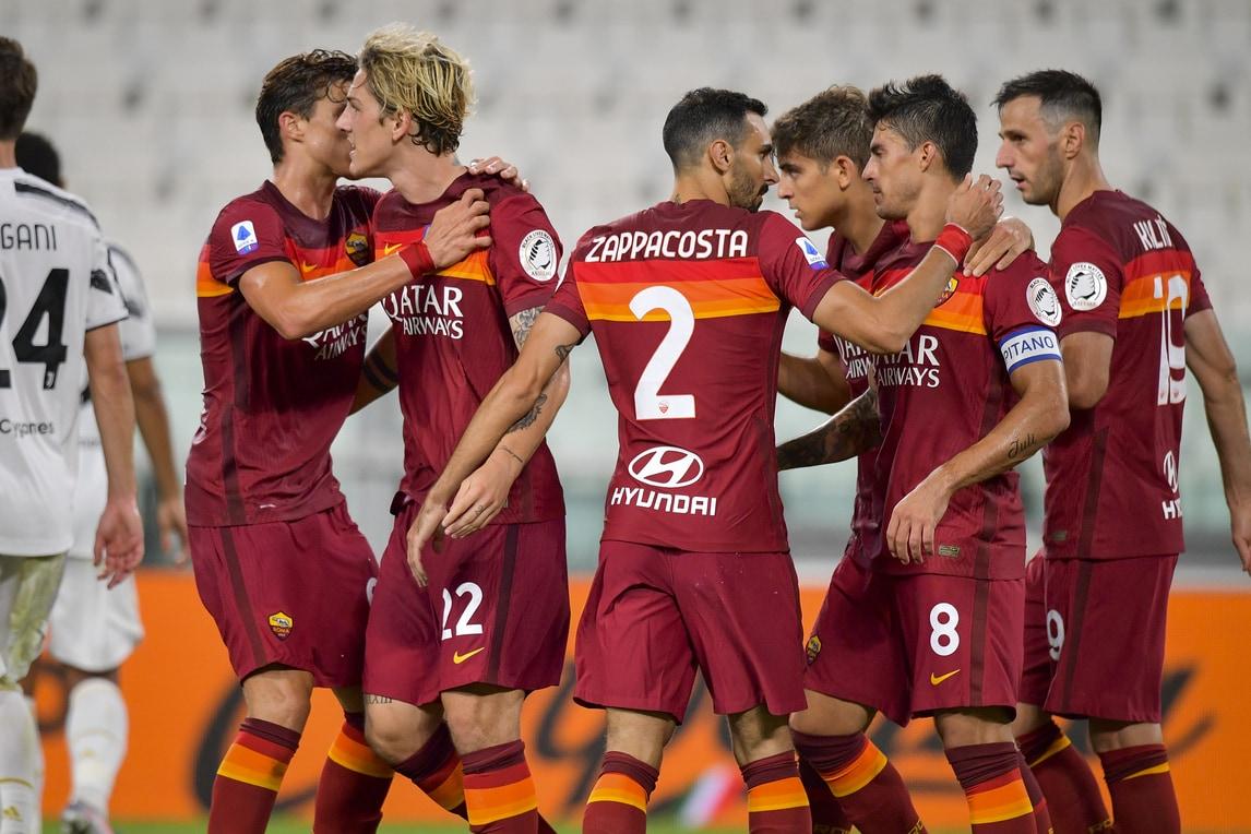 La Roma vince la prima allo Stadium, show di Perotti: Juve ko