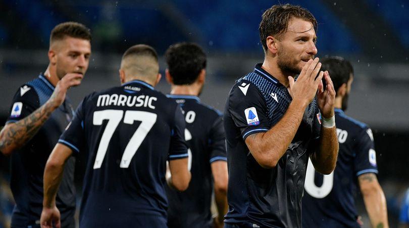 Napoli-Lazio 3-1: Immobile eguaglia il record di Higuain