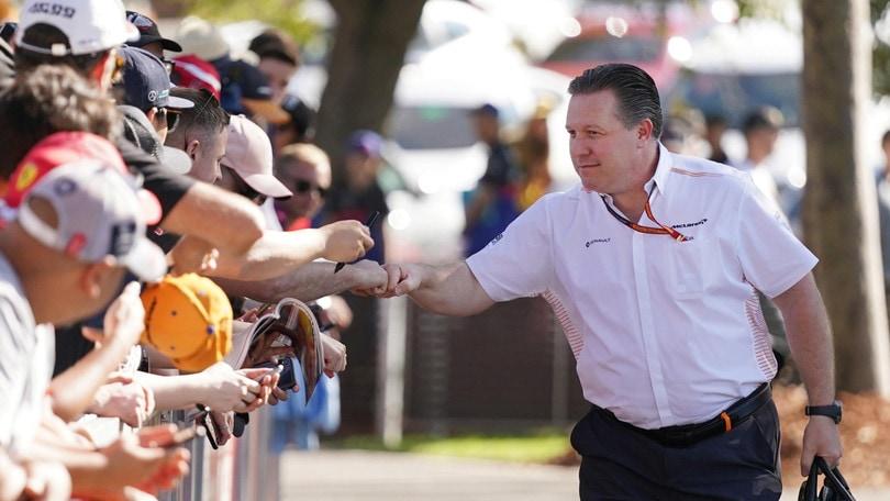 F1 McLaren, Brown: