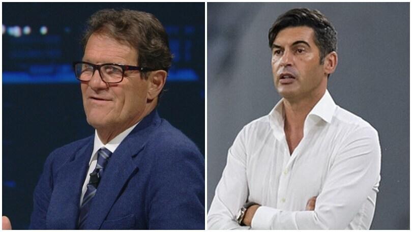 """Fonseca e Capello, frecciata a distanza: """"Difesa a tre? L'ho decisa io!"""""""
