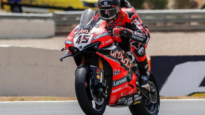GP Spagna, doppietta Ducati: Redding e Davies dominano Gara 2
