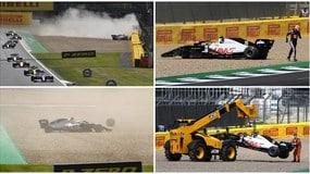 Magnussen, che paura! Incidente spaventoso nel GP di Silverstone