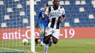 L'Udinese chiude con una vittoria: Okaka stende il Sassuolo