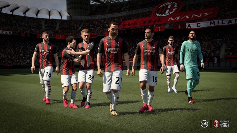 AC Milan ed EA Games annunciano una partnership esclusiva