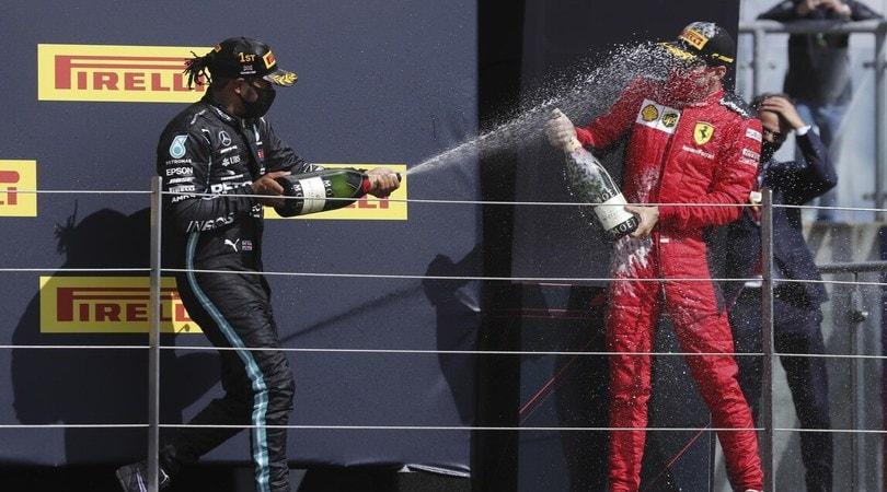 La Ferrari arranca: c'è un dettaglio che evidenzia la superiorità Mercedes