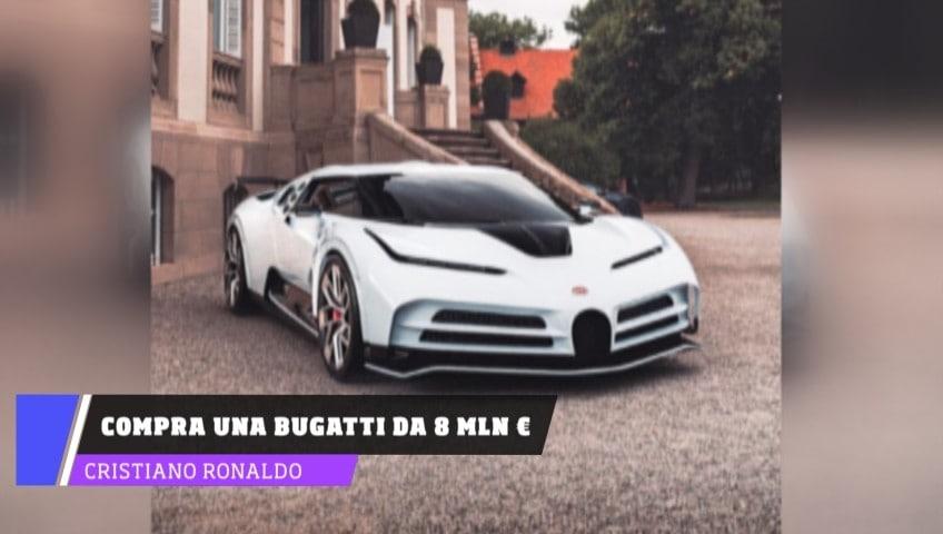 Ronaldo si fa il regalo scudetto: si compra una Bugatti da 8 milioni di euro!