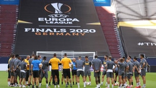 Inter, discorso di Conte alla squadra durante la rifinitura