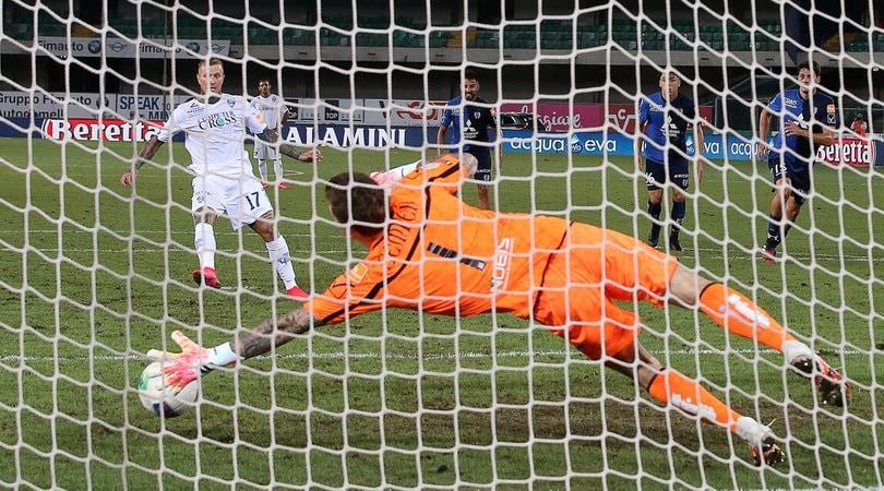 Chievo Verona-Empoli 1-1: Aglietti vola in semifinale playoff