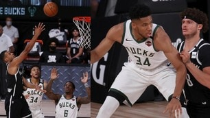 Nba, Antetokounpo solo part-time: i Bucks cadono contro Brooklyn