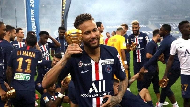 """Neymar punta l'Atalanta: """"Sono al top, voglio la Champions con il Psg"""""""
