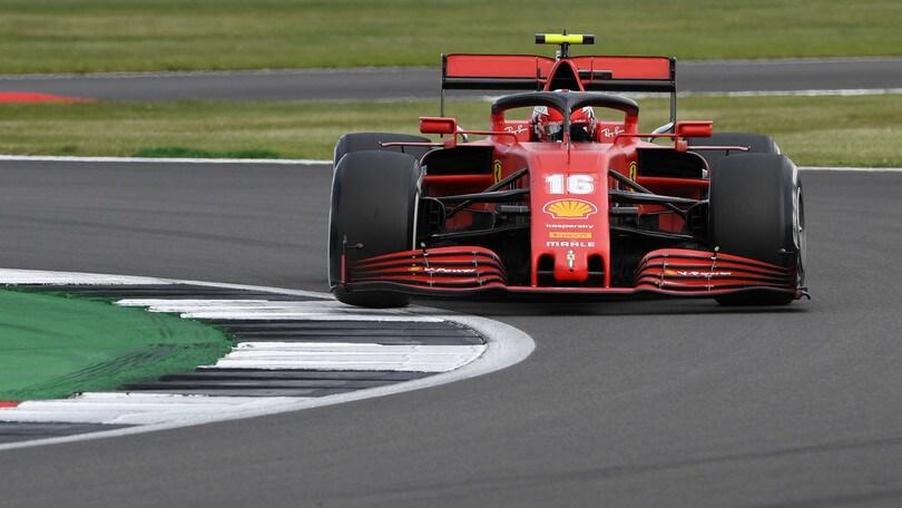 """F1, Leclerc: """"Il podio a Silverstone ha dato morale a tutta la squadra"""""""