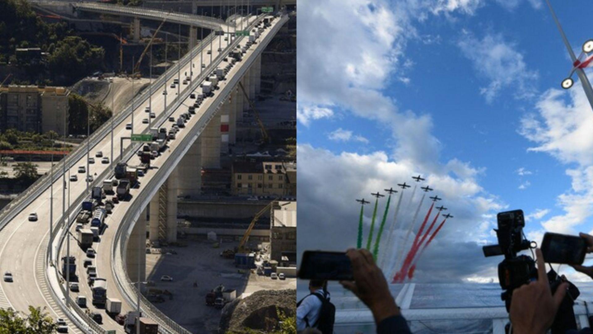 Nuovo Ponte San Giorgio: a Genova torna già il traffico FOTO