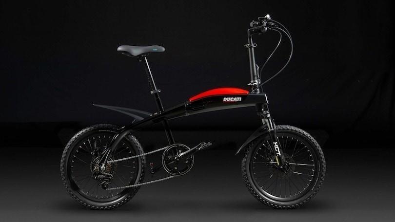 Urban-E, Ducati e Italdesign firmano la e-bike pieghevole