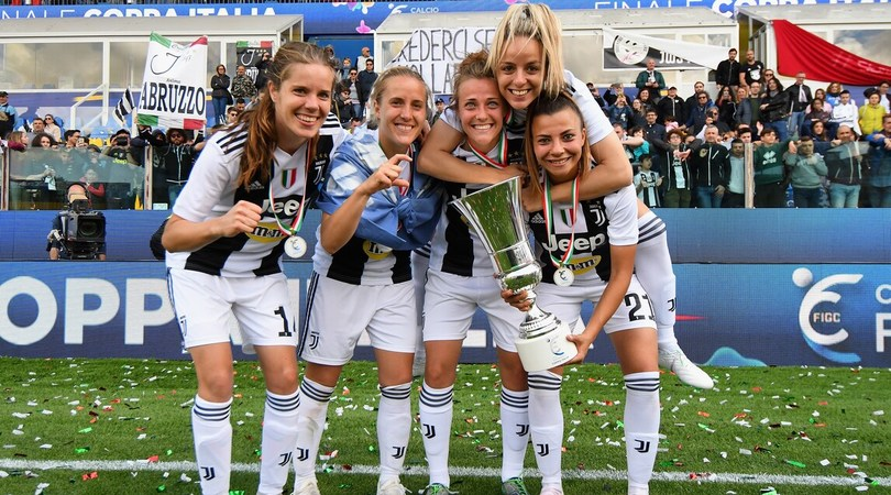 Il calcio femminile è ancora su Sky