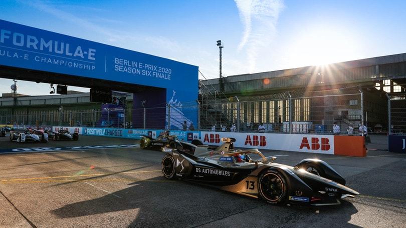 F.E, ePrix Berlino Round 6: Da Costa fa pole, gara e classifica piloti FOTO