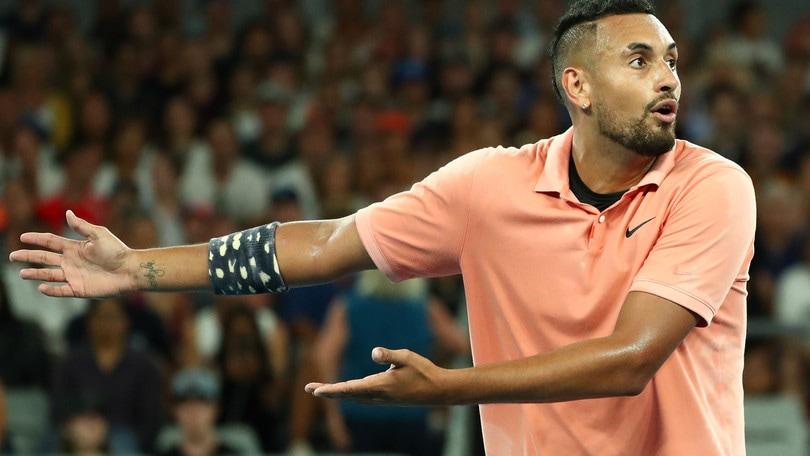 Tennis, Kyrgios in dubbio per il Roland Garros: