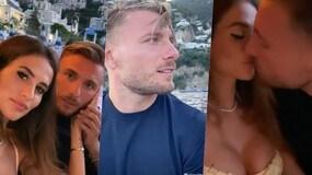 Lazio, la vacanza al bacio di Immobile con la sua Jessica