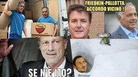 Friedkin prende la Roma, addio Pallotta: le ironie social