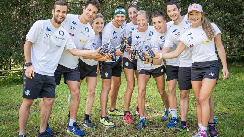 Raduno estivo con la Nazionale italiana di biathlon