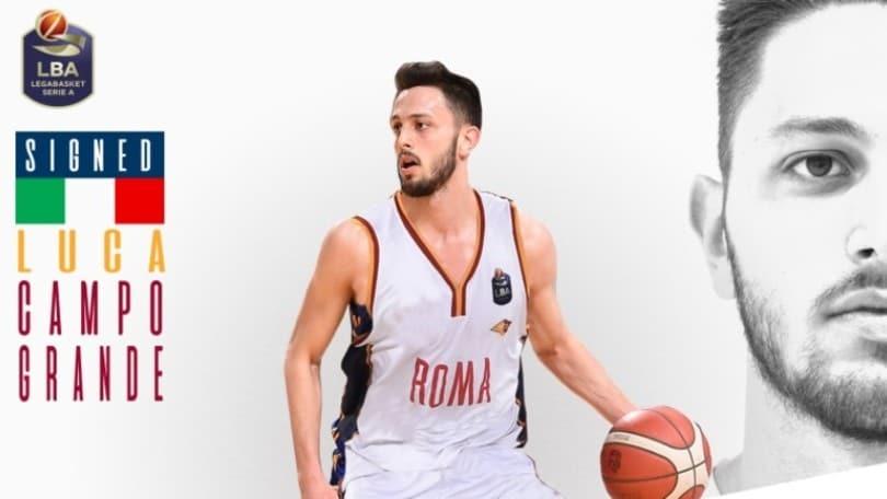 Virtus Roma, acquistato Campogrande:
