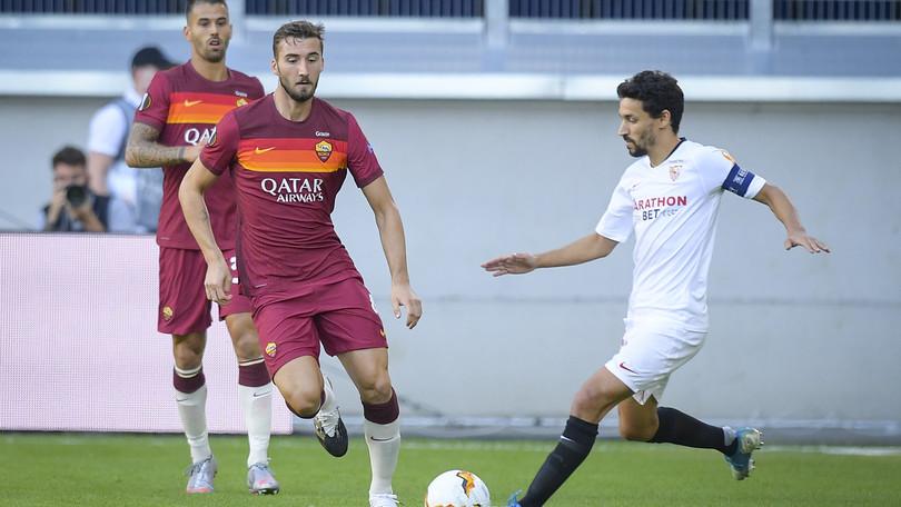 Siviglia-Roma 2-0, il tabellino