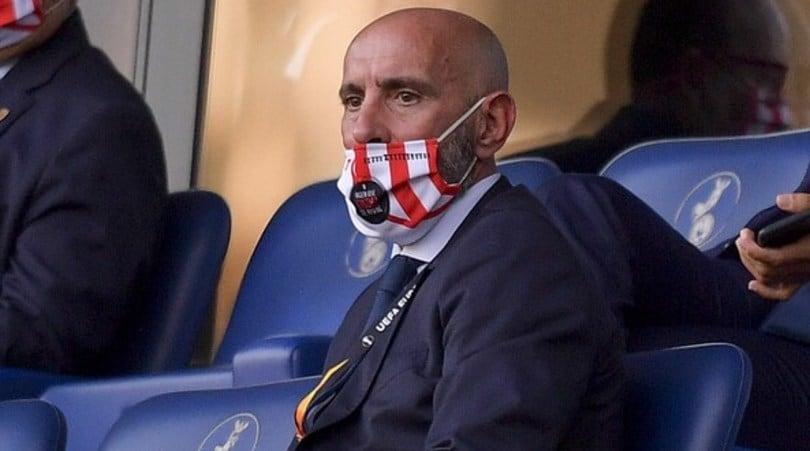 Roma, il figlio di Monchi dedica la vittoria al papà: