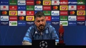 """Gattuso: """"Giocare al Camp Nou senza tifosi è un vantaggio"""""""