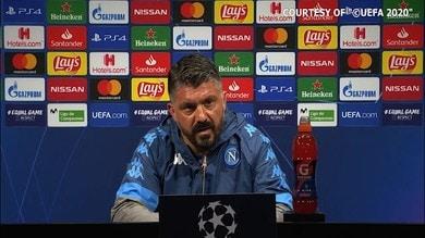 """Gattuso: """"Fabian Ruiz può migliorare ancora tanto"""""""