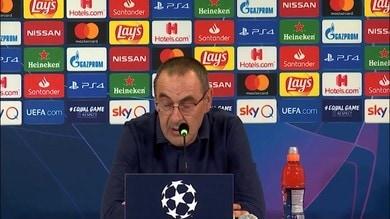 """Sarri: """"Il Lione con noi ha sofferto molto.."""""""