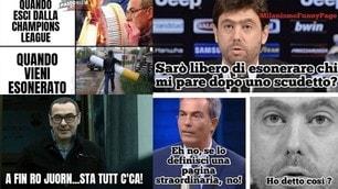 Sarri out, la Juve cambia: i tifosi sui social non perdonano!