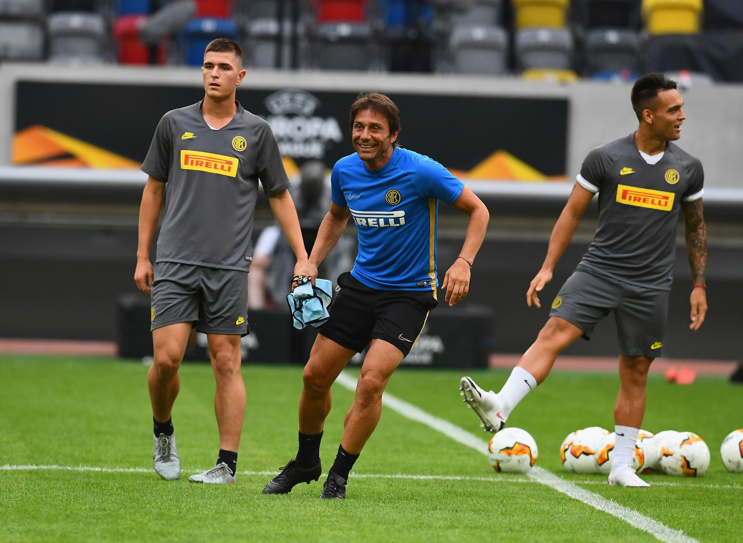 L'Inter sfida il Leverkusen. Atletico-Lipsia, si gioca come previsto