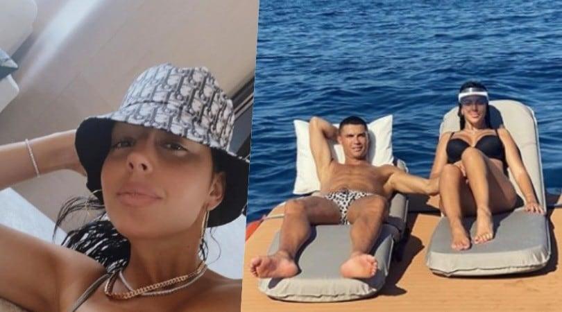 Georgina e Ronaldo a Sanremo sullo yacht extralusso
