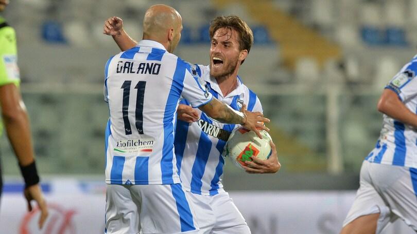 Play out, primo atto al Pescara: battuto il Perugia in rimonta 2-1