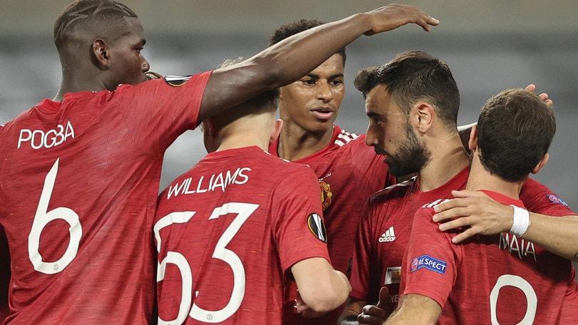 Manchester United in semifinale: Copenaghen ko ai supplementari